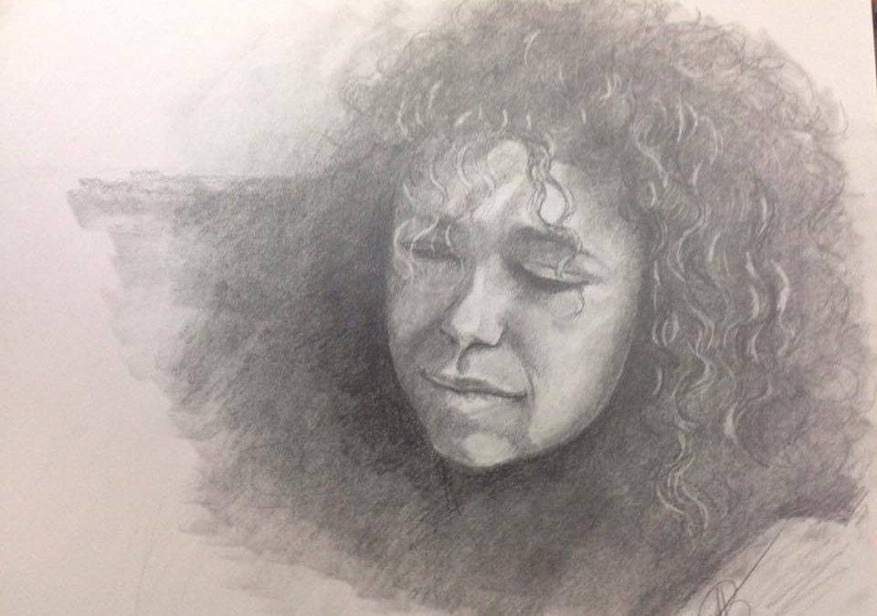Pencil Portrait (Time Lapse)