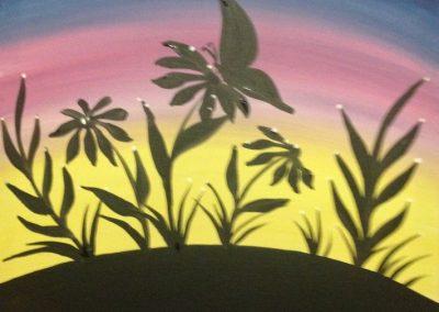 Sunrise Butterfly